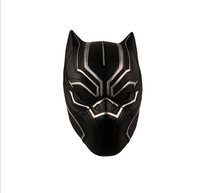 (Top Quality)Hot Movie Captain America: Civil War Resin Mask Black Panther Cosplay Party Mask
