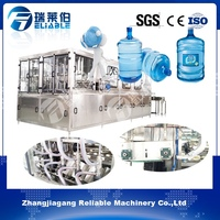 Auto Mineral Water 5 Gallon Bottling Line