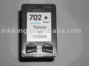 New item Compatible HP ink cartridge 702 ( ISO9001:2000 Certificate )