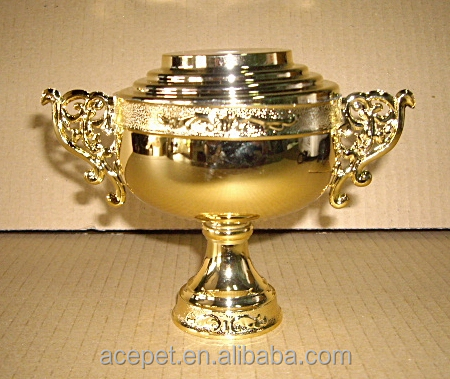 Flower handle cup for trophy