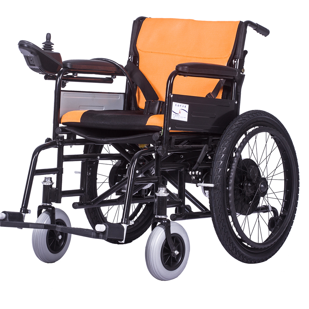Cheap Portable Electric Power Wheelchair Foldable And