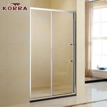 Good quality Shower screen, rectangle shower enclosure / shower door with 1 sliding glass panel
