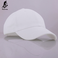 2016 Newest blank custom snapback cap solid white cotton hats without logo