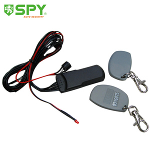 Wireless car anti-hijacking 2.4GHz auto immobilizer bypass car security system