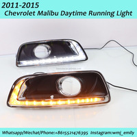 Hot Sale High Quality 2011 2015 Chevrolet Malibu LED DRL Daytime Running Light with Signal Light