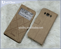 for vivo x3 flip cover leather blank color luxury case with single window