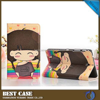 Painting Pattern Flip Stand Leather Case Folio SmartCover for ipad mini 2 3 4 case