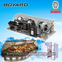 supermarket cold store with hermetic rotary refrigeration compressor unit air cooled refrigeration unit