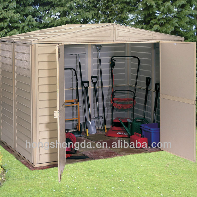 Modern cheap galvanized garden shed metal shed for sale for Aluminum sheds for sale