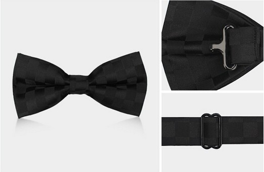 2016 Navy Blue Fashion Bow Ties