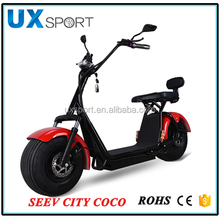 80km per charge Citycoco Electric Wheel Scooter Off-road Electrical Motorcycle 1000W