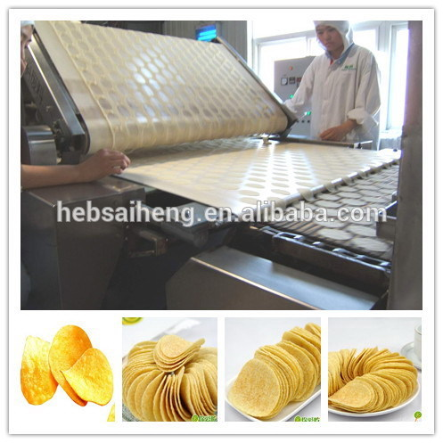 Potato chips snacks making machinery