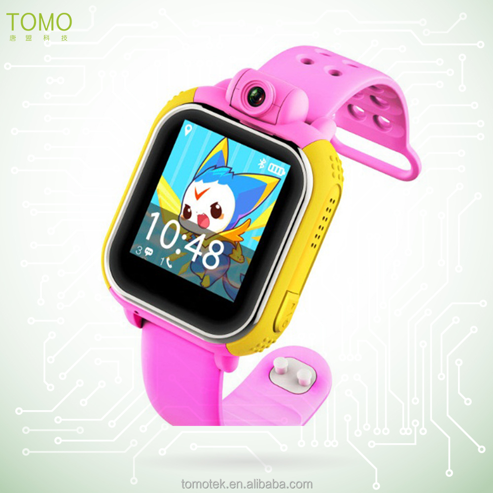 3G color touch screen, gps camera watch mobile phone for senior