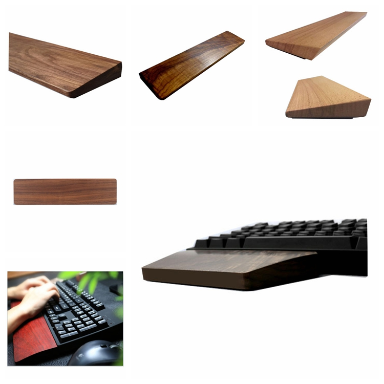 Wooden Keyboard Hand Wrist Care Rest For Wholesale