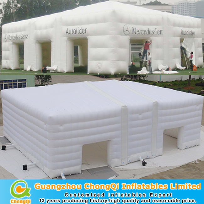 large inflatable tent for outdoor inflatable cube tent event