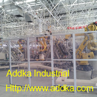 Vehicle parts assembly automation line