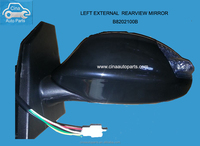 Lifan auto parts Car side mirror with light rearview mirror with light reflective mirror assembly