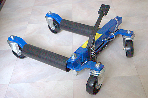 GS,CE approved hydraulic go jack vehicle positioning jack