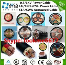 VV 4 core 4mm 10mm cable pvc armoured power cable 120mm