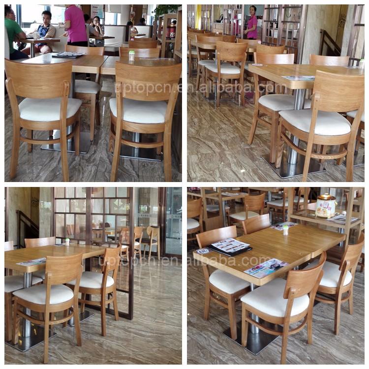 (SP-CS337) 현대 식당 나무 레스토랑 테이블과 의자 사용-나무 의자 ...