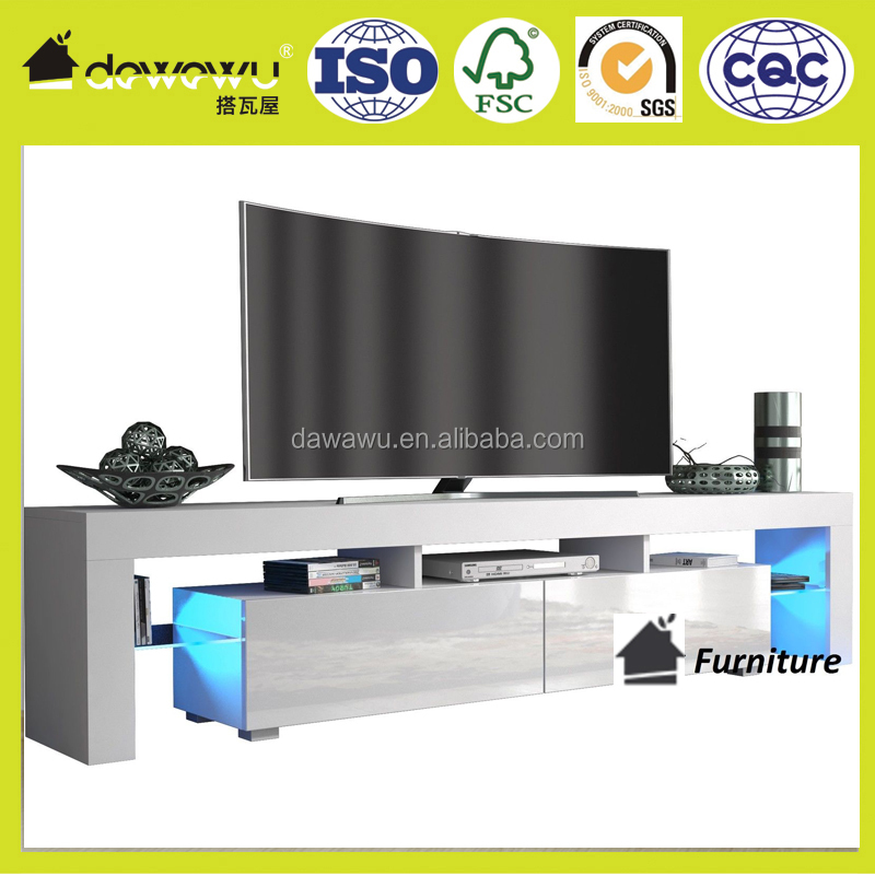 Modern TV Unit led tv wall unit designs with Led Light!