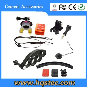 2015 Gold supplier gopros accessory kit for gopros camera hqs