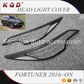 Nice looking Hot selling ABS Plastic body kits 2 colors head light cover for fortuner