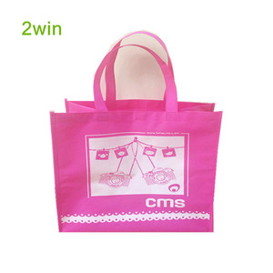 Recycle Printed Custom Folding Non Woven Tote Bag