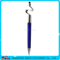 2016 the latest mobile phone holder touch screen stylus ball pen