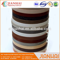 JianHai Smooth bicolor decorated abs edge trim/tape for household furniture edge