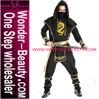 New Arrival Black Samurai Cosplay Man Costume