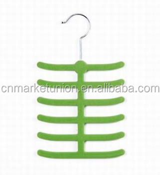 High Quality Velvet Tie Hanger/Belt Hanger