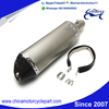 Carbon motorcycle parts And Stainless Muffler For Hexagon Muffler with Carbon end