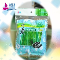 best sales products in alibaba 120g bamboo charcoal air freshener/active carbon deodorizer/home organization