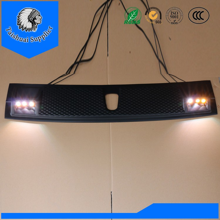 Toyota hilux revo trd 2015 DRL led daytime running light with turnning sigal light