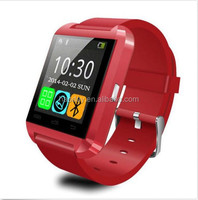 HOT 3 colors New Sport U8 U80 Bluetooth Smart Wrist Watch Phone Mate For Android IOS