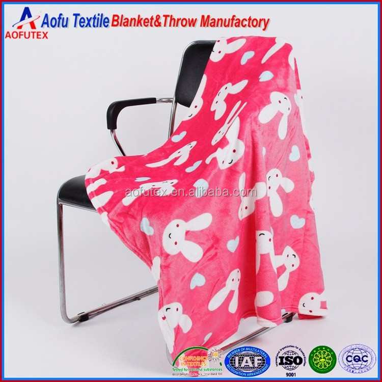 Coral Fleece Blanket Super Soft baby blanket Bedding product Factory Sales 76x102 CM