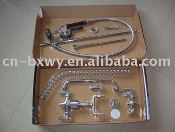 pre-rinse units/dishwasher/add-on faucet/knee valve