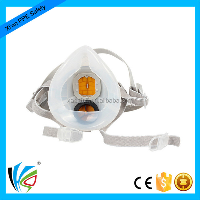 Adjustable Half Face Air Purifying Dust Respirator Protective Mask
