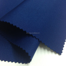 Shaoxing Textile Solid Dyed Double Jersey Polyester Scuba knit fabric