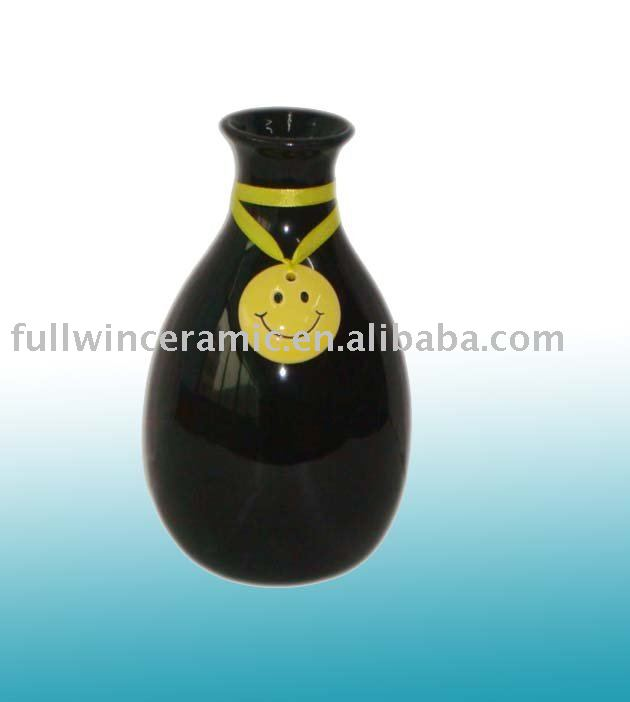 wholesale hand painted ceramics flower vase for home decoration