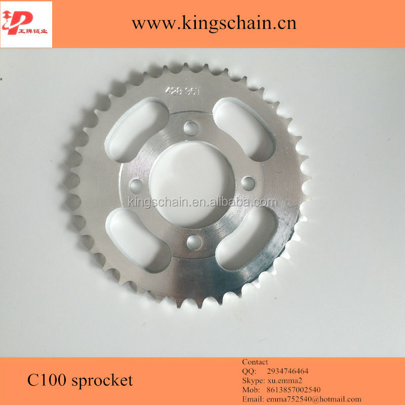 <strong>C100</strong> 45# galvanized 428 36T sprocket