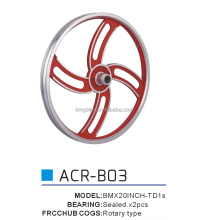 700C aero spoke wheel for sale/5 spoke fixed gear wheel for sale/4 spoke for BMX KB-AERO-Z0037