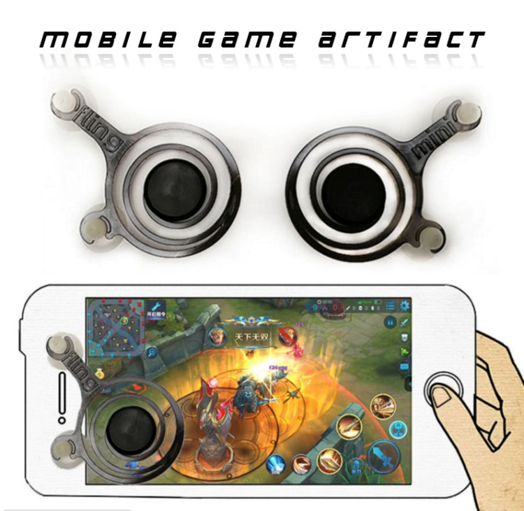 Hot Sale Mini Dual analog Mobile joystick for Mobile phone,Mini Touch Screen Game Joystick for All Smart Phone and Tablet PC