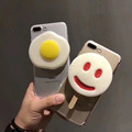 Ice-cream tpu case back cover for iPhone 5 6 6 plus 7 7 Plus, Egg tpu case for iPhone 8