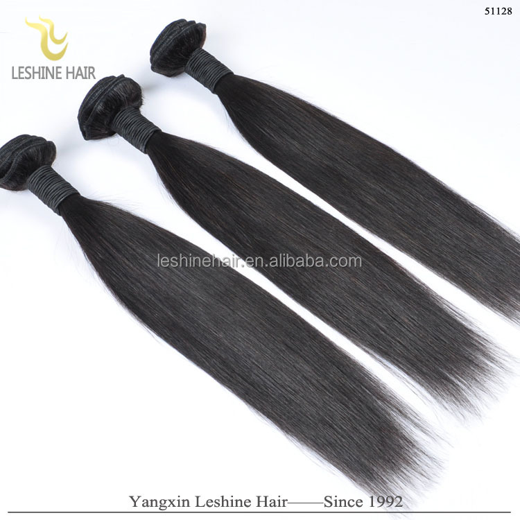 free chemical treat factory discount free tangle&shedding unprocessed virgin brazilian straight hair