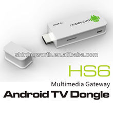 Android 4.2 smart tv dongle HS6 android tv dongle