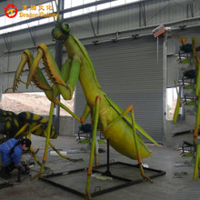 Decoration equipments artificial animated live animal -mantis model