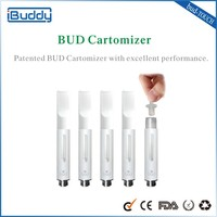 Most Popular Product Buddy Bud touch hot vapor pen S-lamp glass globe vaporizer