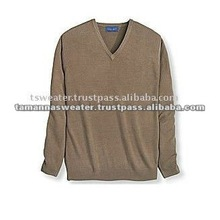 Knitted Men Pullover 100% Acrylic Sweater